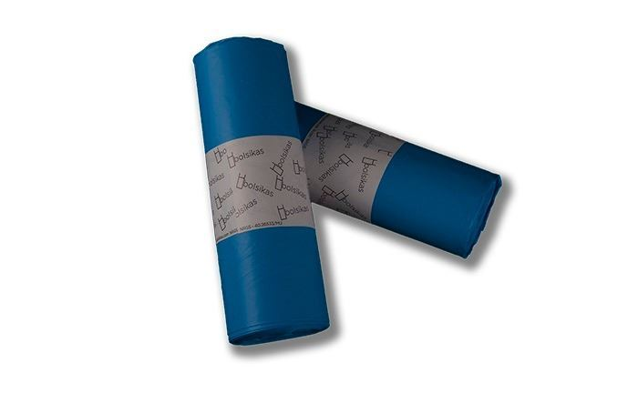 Bolsa basura azul Dicaproduct.