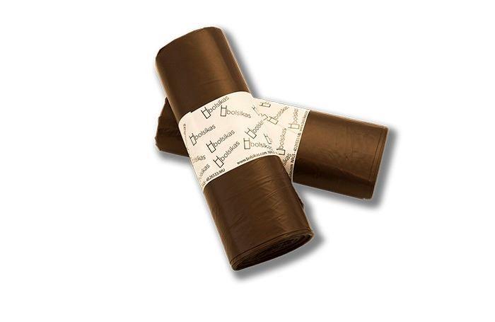 Bolsa basura marrón Dicaproduct.