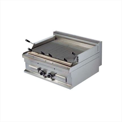 BARBACOA A GAS DE 800X700X290 MM