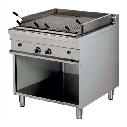 BARBACOA A GAS DE 850X900X900 MM