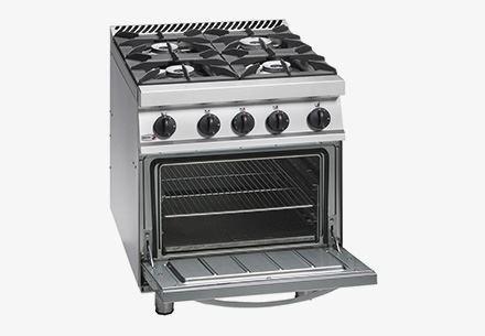Cocina A Gas De Fuegos Abiertos Con Horno Fagor Gama 700